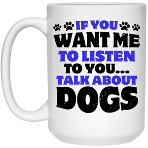Talk About Dogs - Mugs Rescuers Club