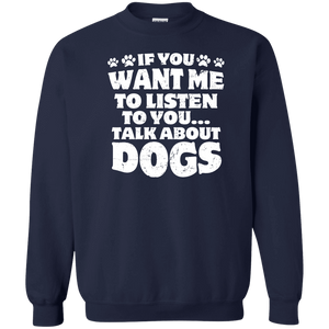Talk About Dogs - Sweatshirt Rescuers Club