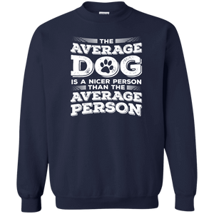 The Average Dog - Sweatshirt Rescuers Club