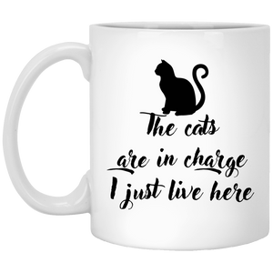 The Cats Are In Charge - Mugs Rescuers Club