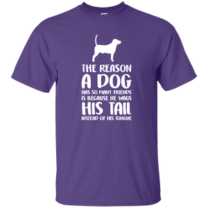 The Reason A Dog Has So Many Friends - T Shirt Rescuers Club
