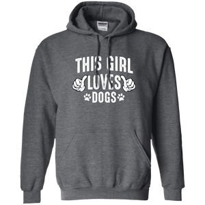 This Girl Loves Dogs - Hoodie Rescuers Club