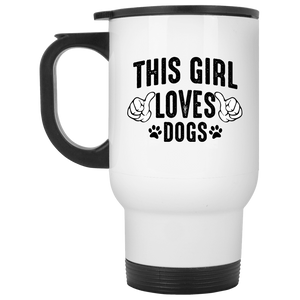 This Girl Loves Dogs - Mugs Rescuers Club
