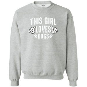 This Girl Loves Dogs - Sweatshirt Rescuers Club