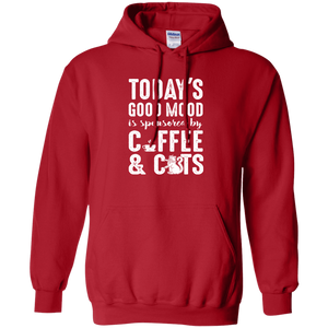 Today's Good Mood Coffee & Cats - Hoodie Rescuers Club