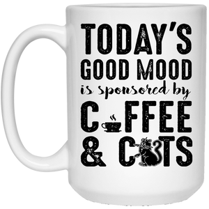 Today's Good Mood Coffee & Cats - Mugs Rescuers Club