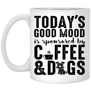 Today's Good Mood Coffee & Dogs - Mugs Rescuers Club