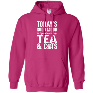 Today's Good Mood Tea & Cats - Hoodie