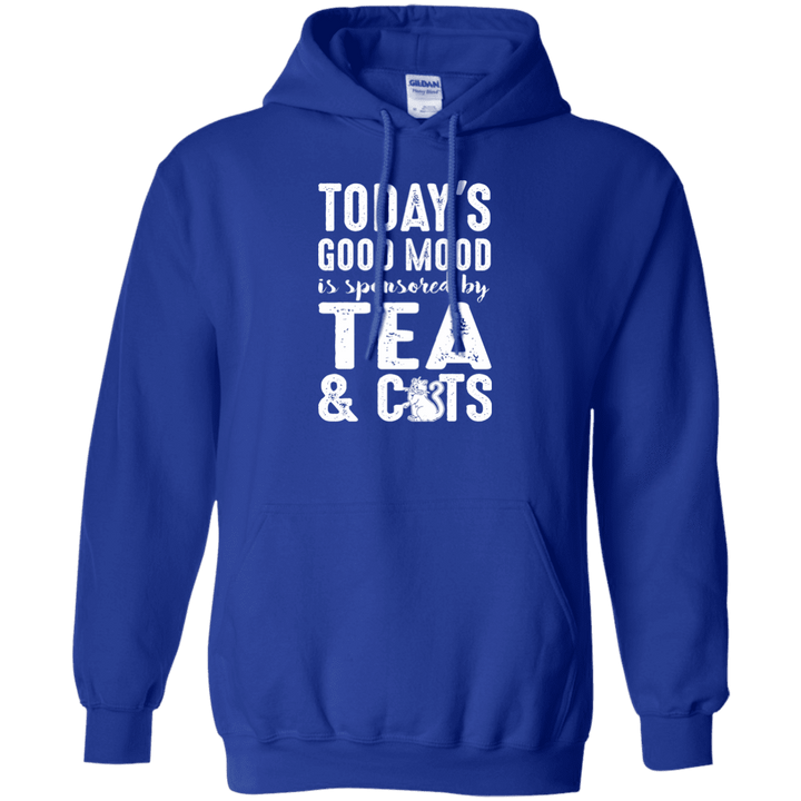 Today's Good Mood Tea & Cats - Hoodie Rescuers Club
