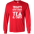 Load image into Gallery viewer, Today's Good Mood Tea & Cats - Long Sleeve T Shirt Rescuers Club