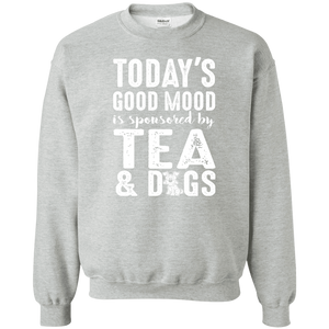 Today's Good Mood Tea & Dogs - Sweatshirt Rescuers Club
