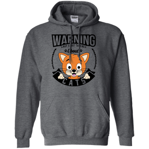 Warning May Start Talking About Cats - Hoodie Rescuers Club