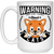 Load image into Gallery viewer, Warning May Start Talking About Cats - Mugs Rescuers Club