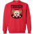 Load image into Gallery viewer, Warning May Start Talking About Dogs - Sweatshirt Rescuers Club