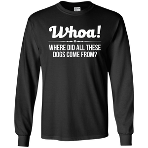 Whoa! - Long Sleeve T Shirt Rescuers Club