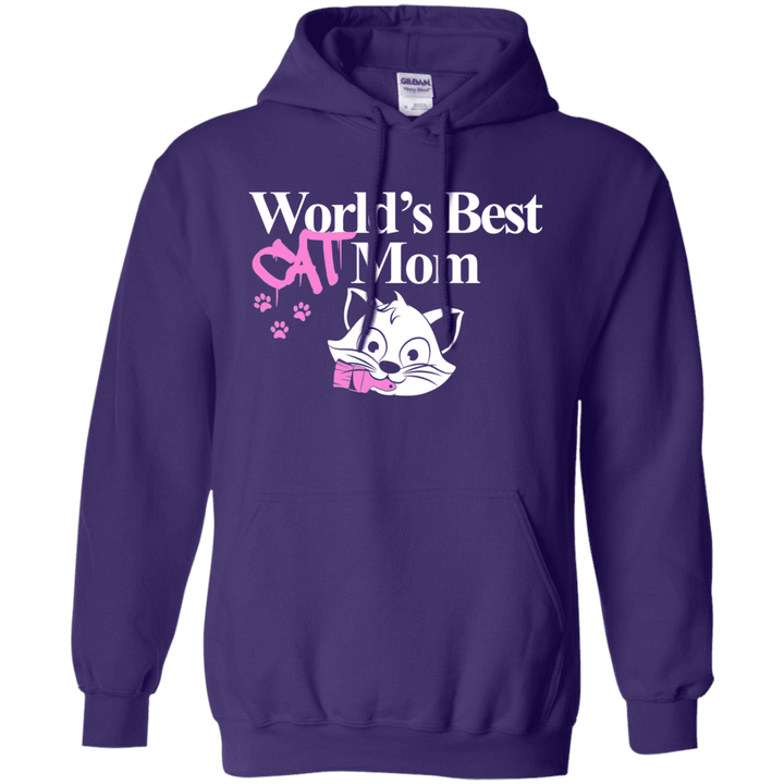Worlds Best Cat Mom - Hoodie Rescuers Club