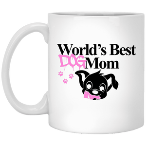 Worlds Best Dog Mom - Mugs Rescuers Club