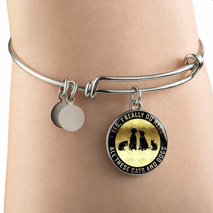 Yes I Need All These Cats & Dogs - Bangle Rescuers Club