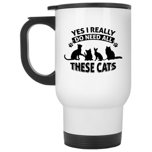 Yes I Need All These Cats - Mugs Rescuers Club