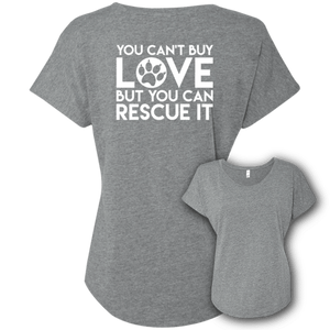 You Can't Buy Love - Slouchy Tee Rescuers Club