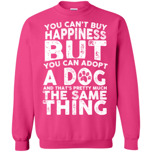 You Cant Buy Happiness - Sweatshirt Rescuers Club