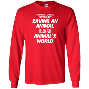 You Won't Change The World - Sweatshirt Rescuers Club