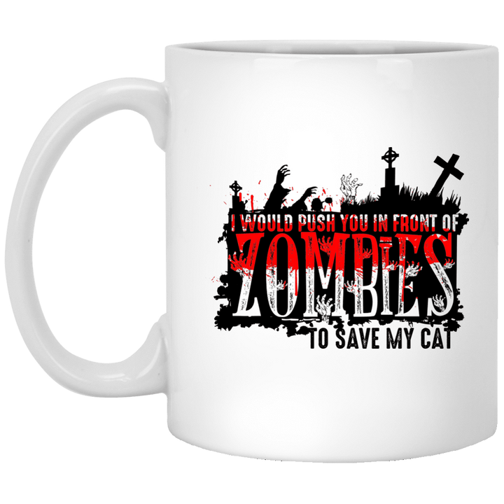 Zombies Cat - Mugs Rescuers Club