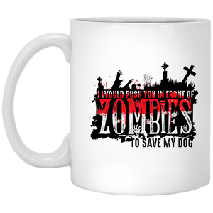 Zombies Dog - Mugs Rescuers Club