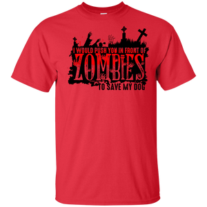 Zombies Dog - Youth t Shirt Rescuers Club