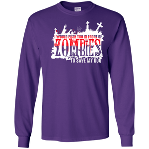 Zombies - Long Sleeve T Shirt Rescuers Club