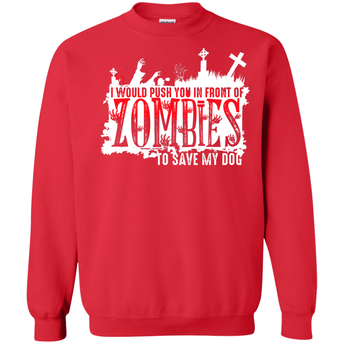 Zombies - Sweatshirt Rescuers Club
