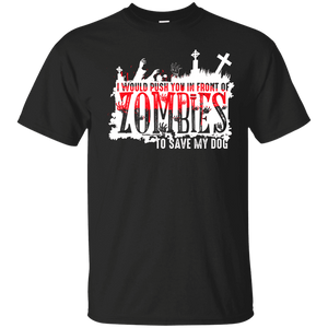 Zombies - T Shirt Rescuers Club