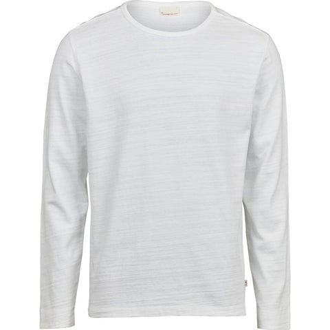 Knowledge Cotton Apparel ELM long sleeve Long Sleeve 1010 Bright White