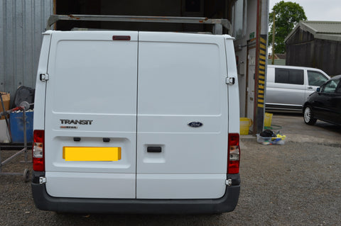 DT Design - rear doors before