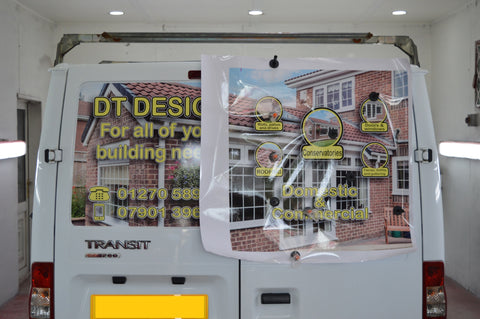 DT Design - rear doors during installation
