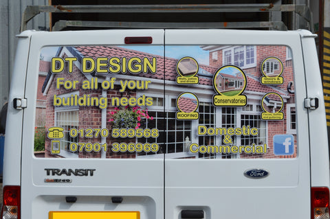 DT Design - rear doors complete
