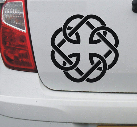 Celtic 'Fatherhood' knot #1 - vinyl decal graphic sticker - Enhance With Vinyl