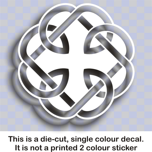 Celtic 'Fatherhood' knot #2 - vinyl decal graphic sticker - Enhance With Vinyl