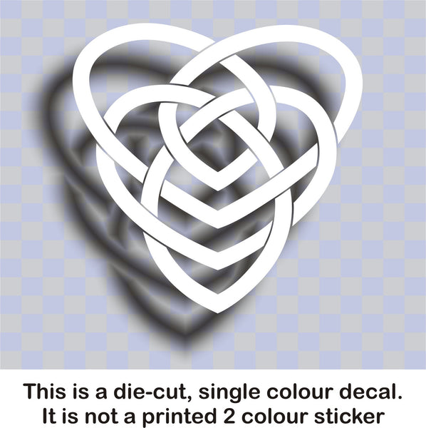 Celtic 'Motherhood' knot #1 - vinyl decal graphic sticker - Enhance With Vinyl