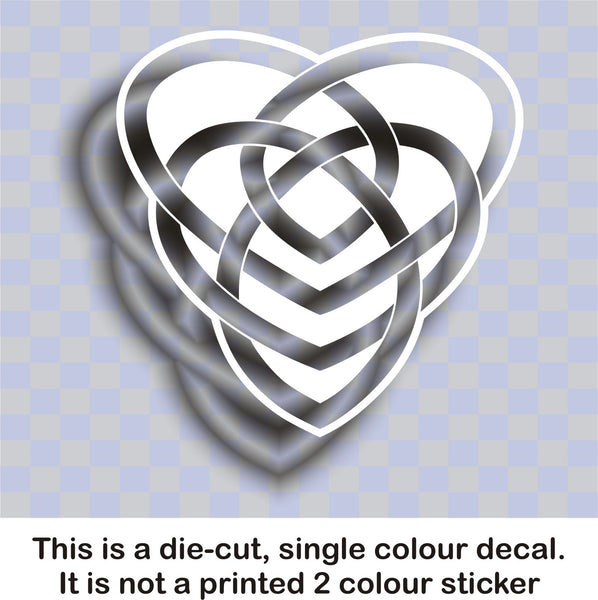 Celtic 'Motherhood' knot #2 - vinyl decal graphic sticker - Enhance With Vinyl