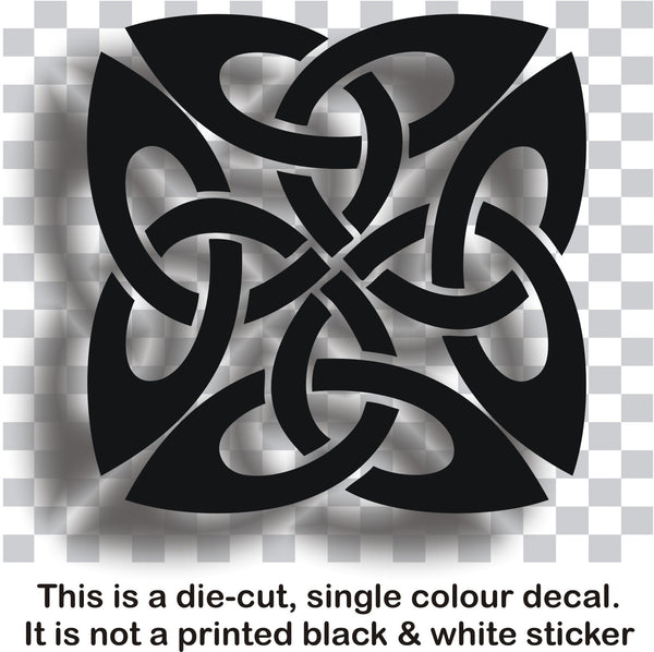 Celtic knot #1 - vinyl decal graphic sticker for car bike laptop or home - Enhance With Vinyl