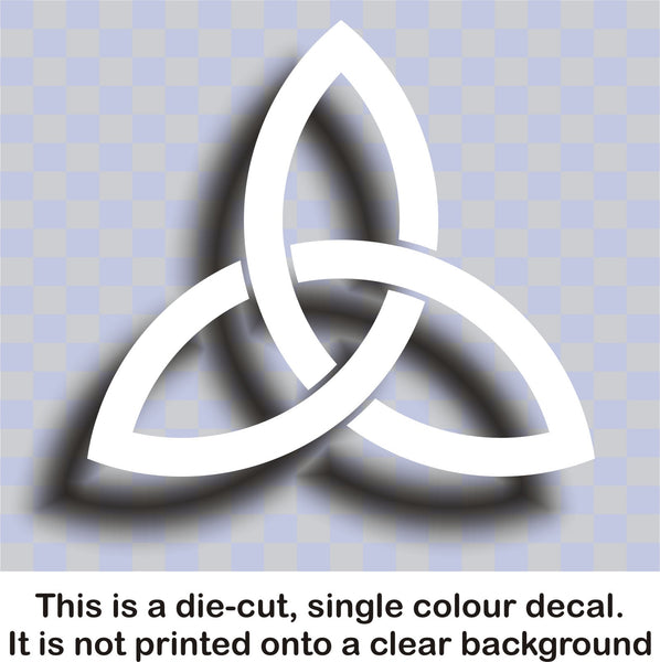 Celtic 'Trinity' knot #1 - vinyl decal graphic sticker for cars bikes bumpers home - Enhance With Vinyl