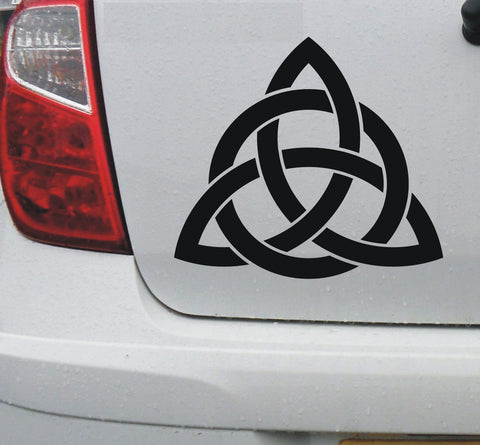 Celtic 'Trinity' knot #2 - vinyl decal graphic sticker for cars bikes bumpers home - Enhance With Vinyl