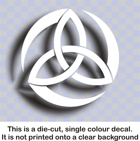 Celtic Trinity knot #3 - vinyl decal graphic sticker for car bike laptop or home - Enhance With Vinyl