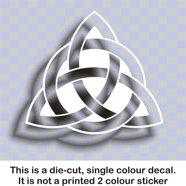 Celtic 'Trinity' knot #4 - vinyl decal graphic sticker for cars bikes bumpers home - Enhance With Vinyl