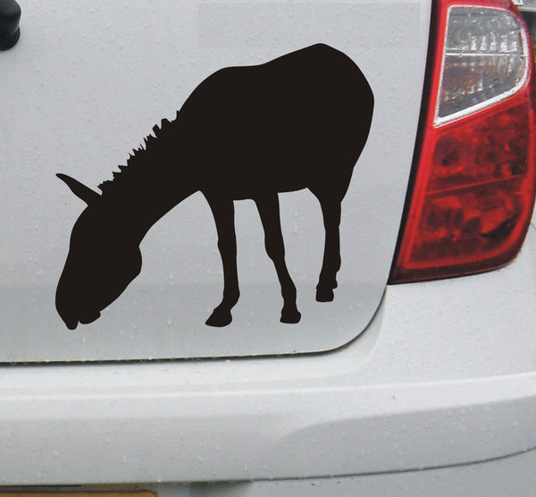 Donkey #1 vinyl decal car bike window sticker graphic - Enhance With Vinyl