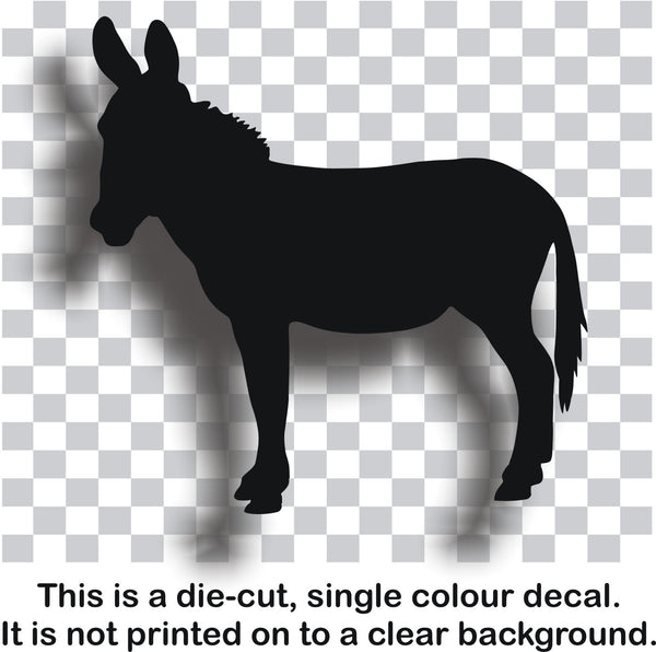 Donkey #2 vinyl decal car bike window sticker graphic - Enhance With Vinyl