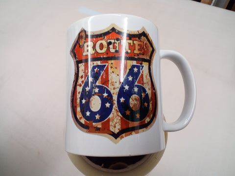 Route 66 - tea/coffee mug
