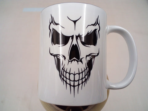 Smiling skull - tea/coffee mug