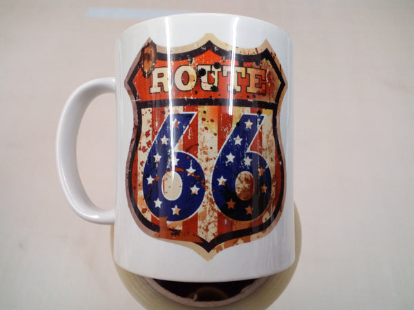 Route 66 - 11oz mug birthday Christmas xmas gift present